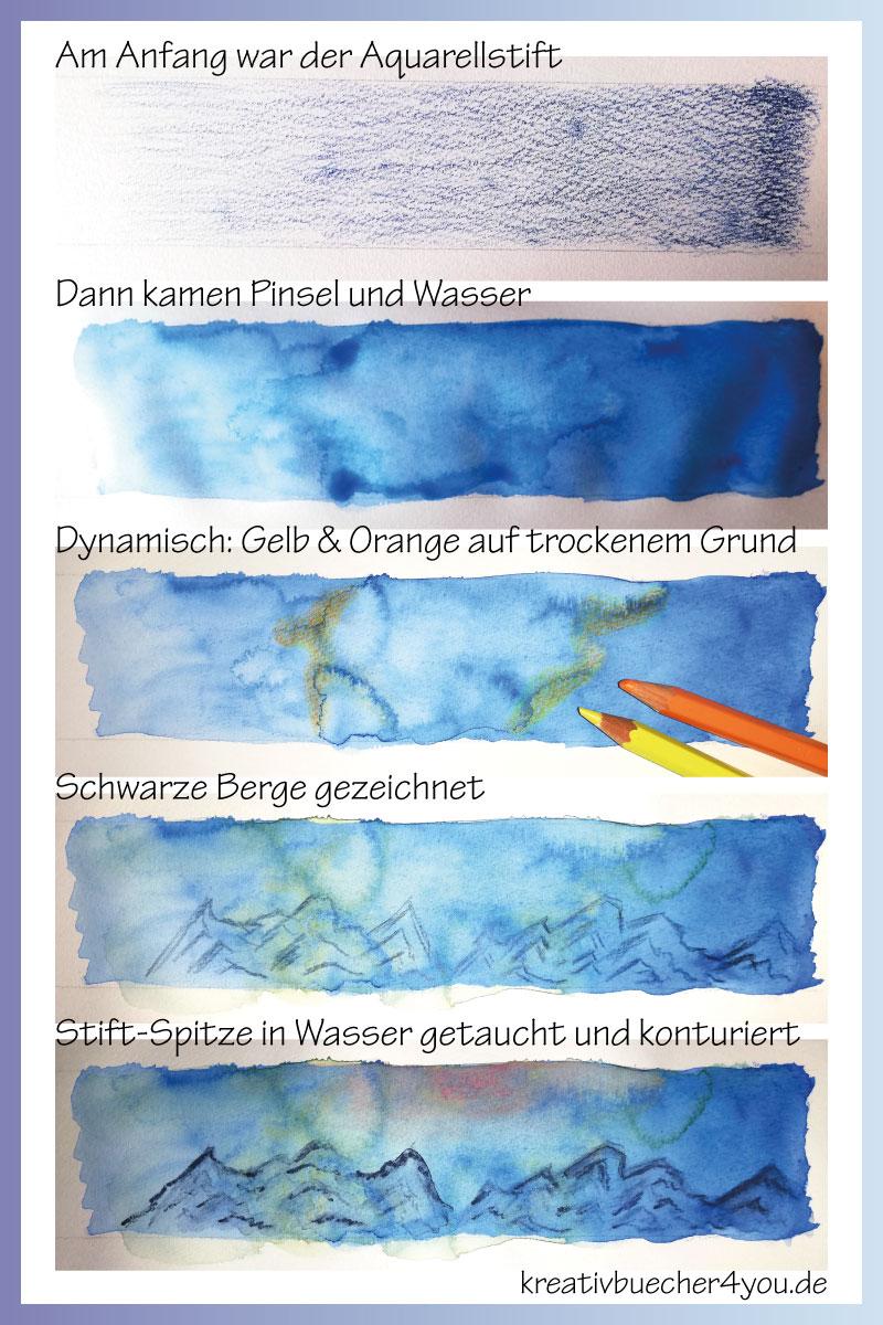Aquarell Malen Die Anleitung Zur Aquarellmalerei 13