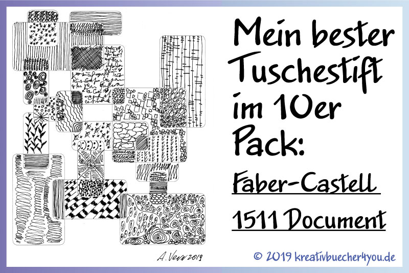 Tuschestift Faber Castell 1511 Document Test