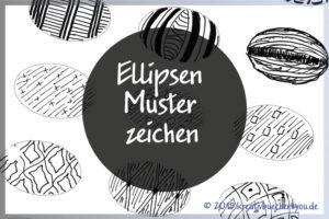 Muster zeichnen Ellipsen