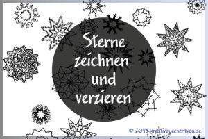 Gezeichnete Sterne | kreativbuecher4you.de