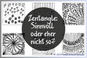 Zentangle Muster Empfehlung und Kritik