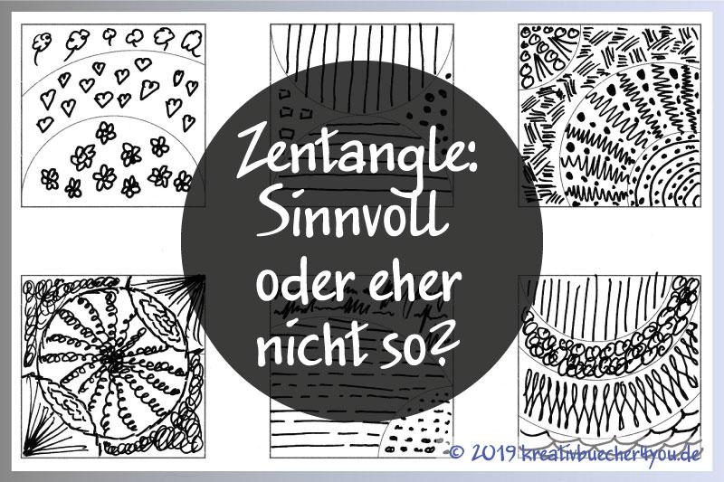 Zentangle Muster zeichnen: Nur Marketing oder gibt es einen Mehrwert?