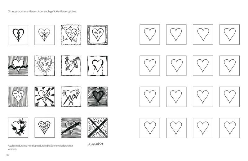 Muster mit symbolischer Bedeutung zeichnen lernen