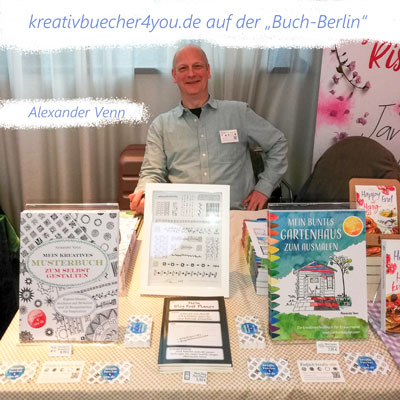"""kreativbuecher4you.de auf der Messe """"Buch-Berlin 2019"""""""