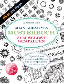 "Muster selbst zeichnen - Blick ins Buch zu ""Mein kreatives Musterbuch"" Alexander Venn"