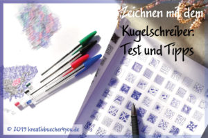 Kugelschreiber zum Zeichnen im Test