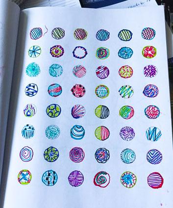 Malbuch für Senioren - kreativ und bunt