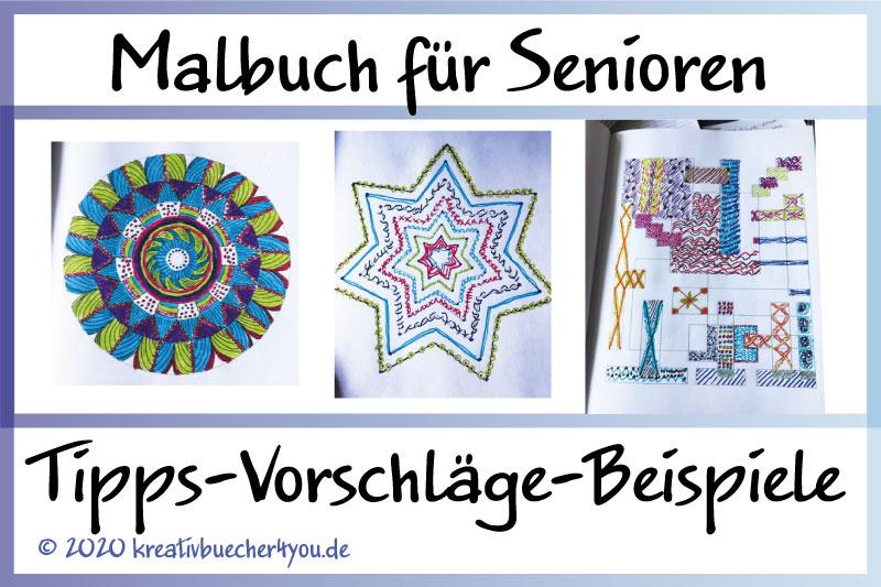 Malbuch für Senioren