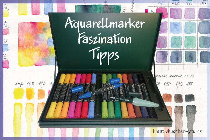 Watercolour-Marker: Aquarellmarker-Kaufangebote und viele Anwendungsbeispiele