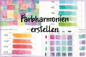 Farbharmonien selbst malen und erstellen Beispiele