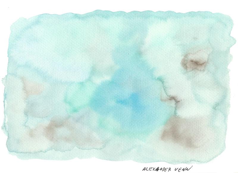 Aquarell Hintergrund Pastell