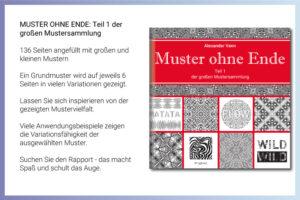 Buch Muster ohne Ende - Teil1 der großen Mustersammlung Buchvorstellung
