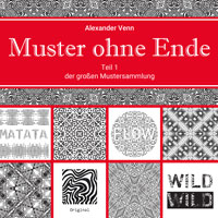 Buchcover-Mustersammlung-Muster-ohne-Ende