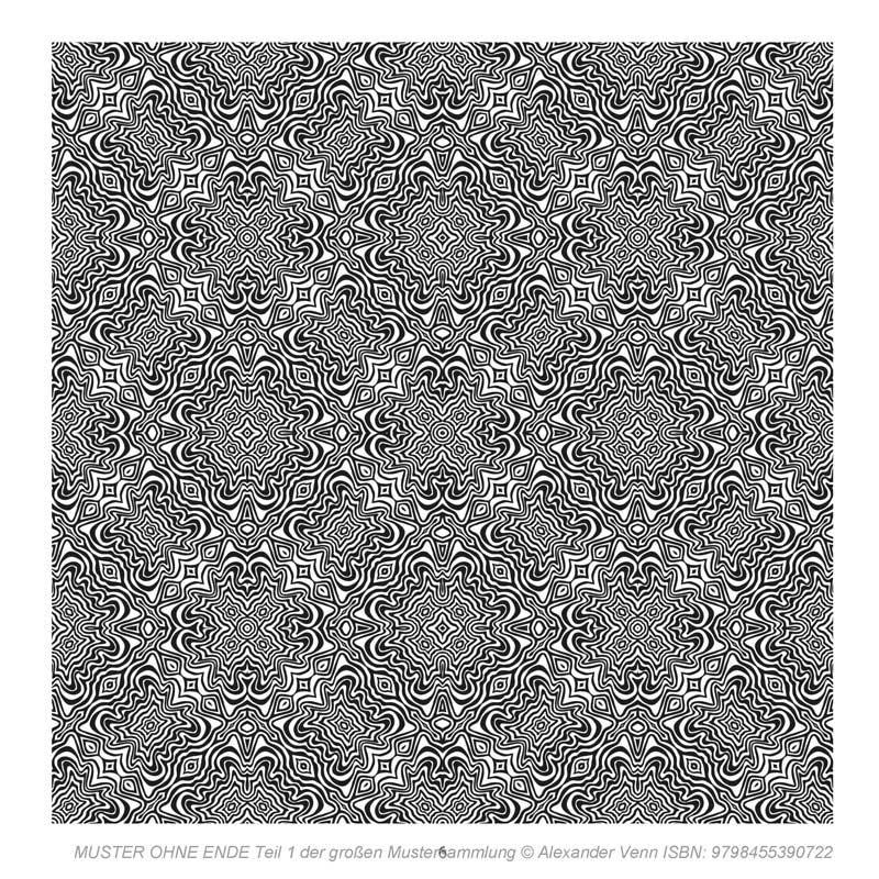 Zebramuster aus der Mustersammlung