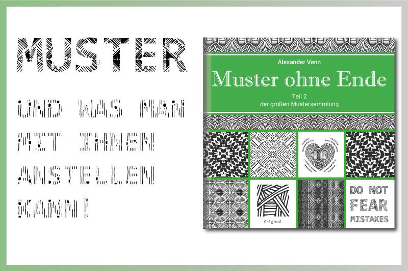 Mustersammlung - Buch-Review - gezeichnete Muster
