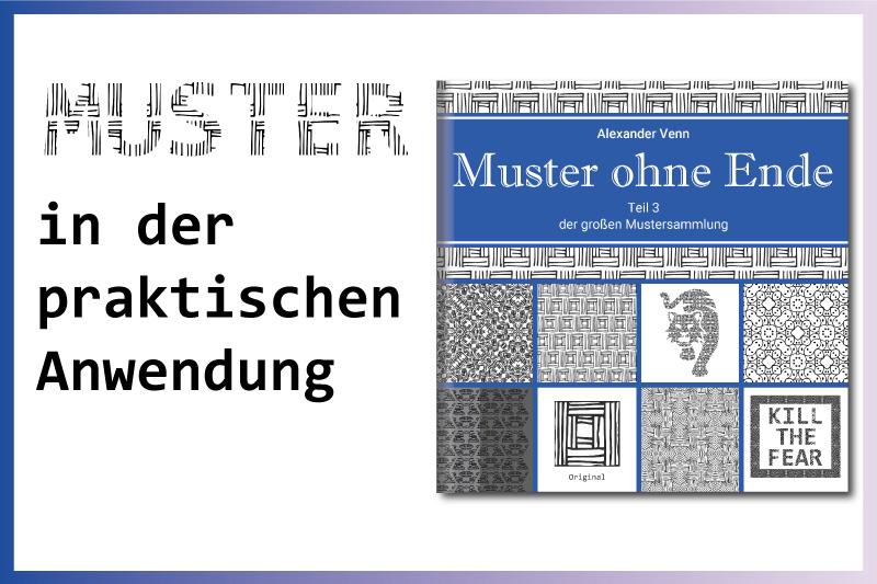 Kreativbuch - Mustersammlung- Muster in der praktischen Anwendung