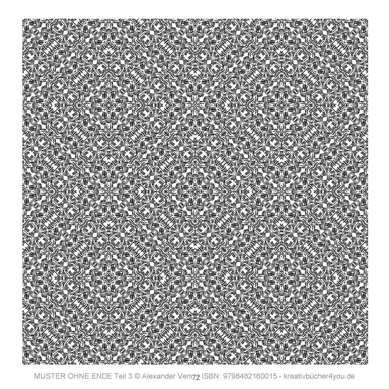 Wildes Muster - lebendige Textur